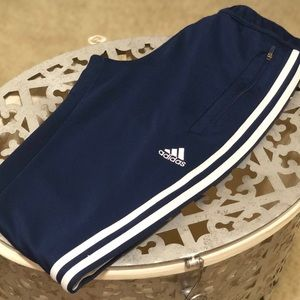 Adidas fitted sweat pants